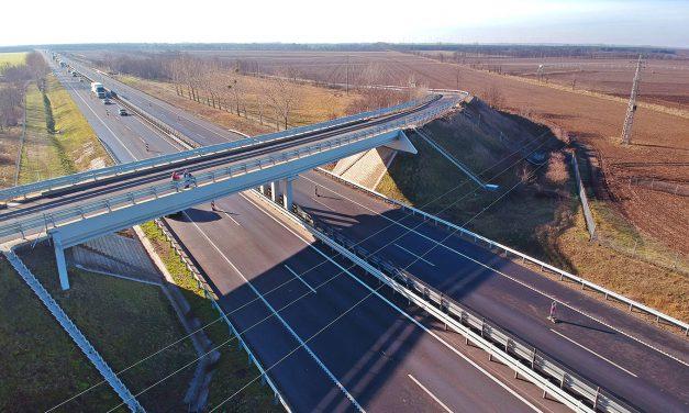 2020-ban csaknem 160 kilométer új gyorsforgalmi út épül meg