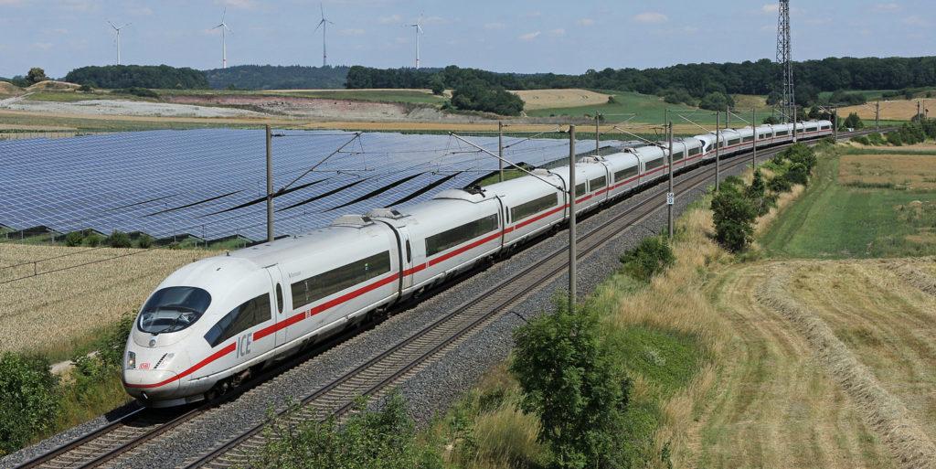 Zöldülő német vasút