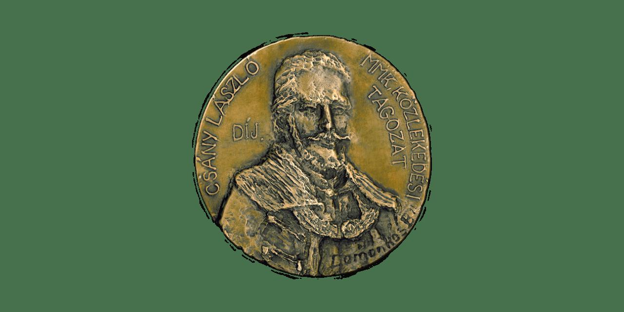 Felhívás Csány László-díj kitüntetés javaslatára