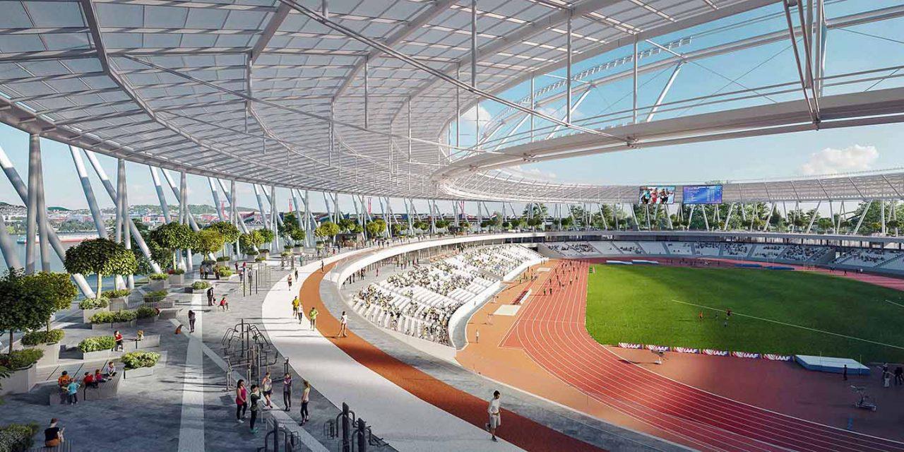 Elstartolt az atlétikai stadion kivitelezési tendere