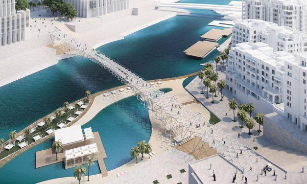 Dubai új gyalogoshídja
