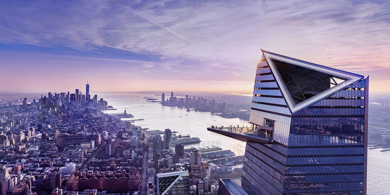 335 méterrel New York felett