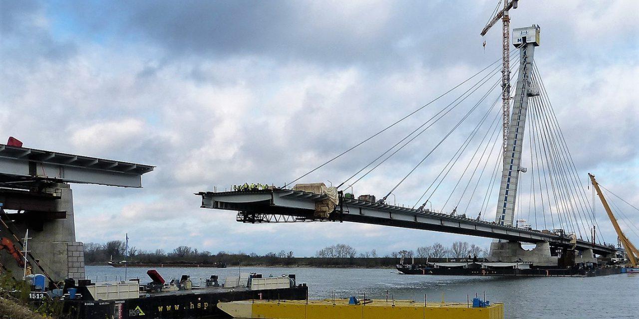 A Monostori Duna-híd építéstechnológiája