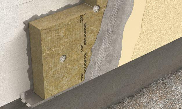 ROCKWOOL új homlokzati hőszigetelési megoldásai
