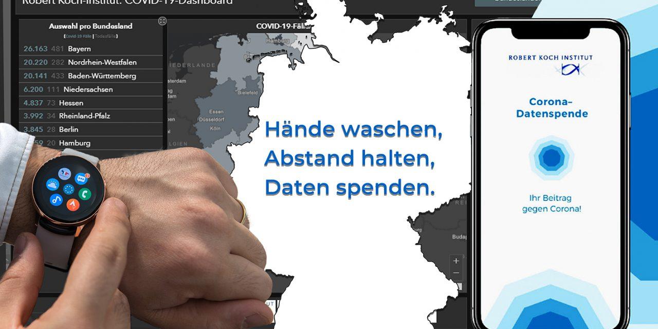 Okosórákból, fitneszkarkötőkből információt gyűjtő applikáció segíti a járvány megállítását Németországban