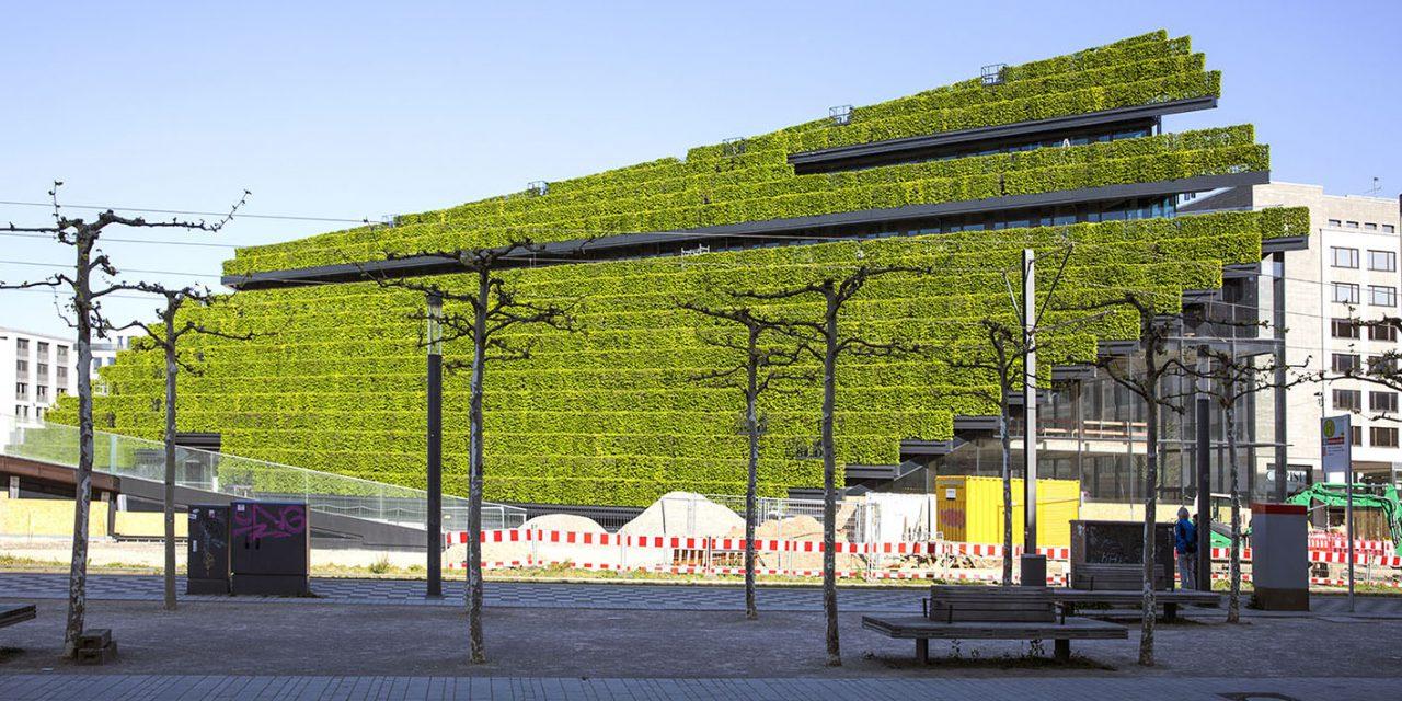Elkészült Európa legnagyobb zöld homlokzata