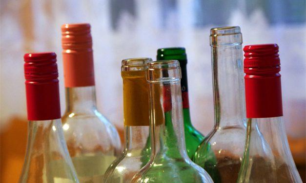 Először vizsgálták a borospalackok környezeti hatásait