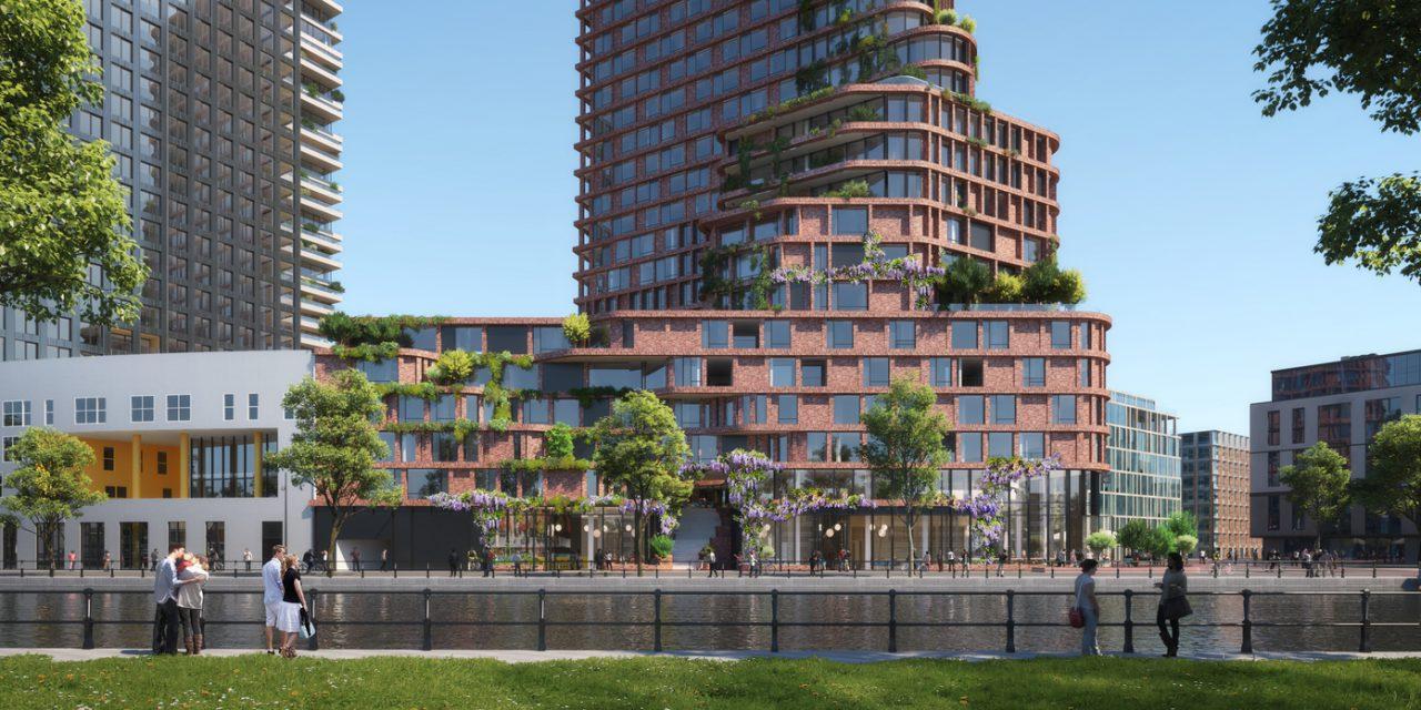Új magasház épül Amszterdamban