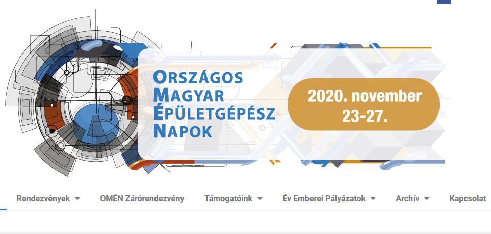 Tervezői pályázat az Országos Magyar Épületgépész Napok alkalmából