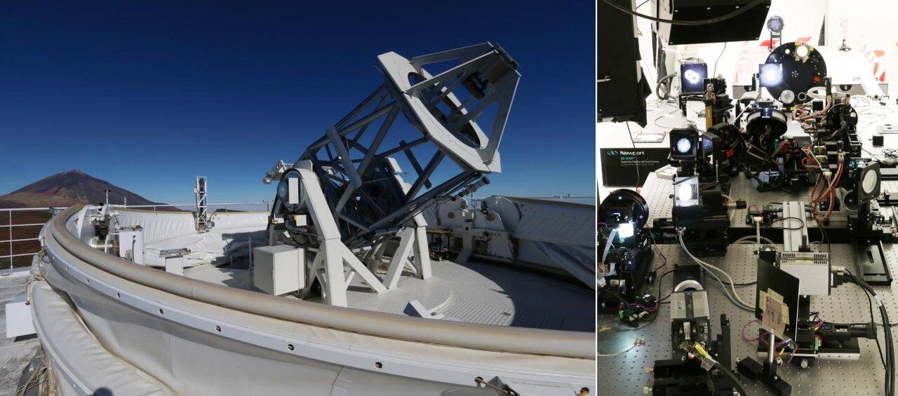 Tűéles képeket készített a Nap finomszerkezetéről Európa legnagyobb napteleszkópja