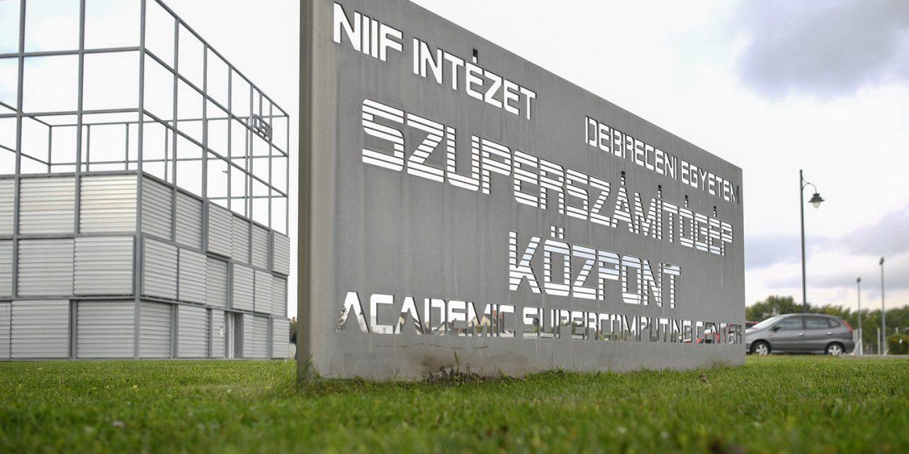 Szuperszámítógépet telepítenek a Debreceni Egyetemre