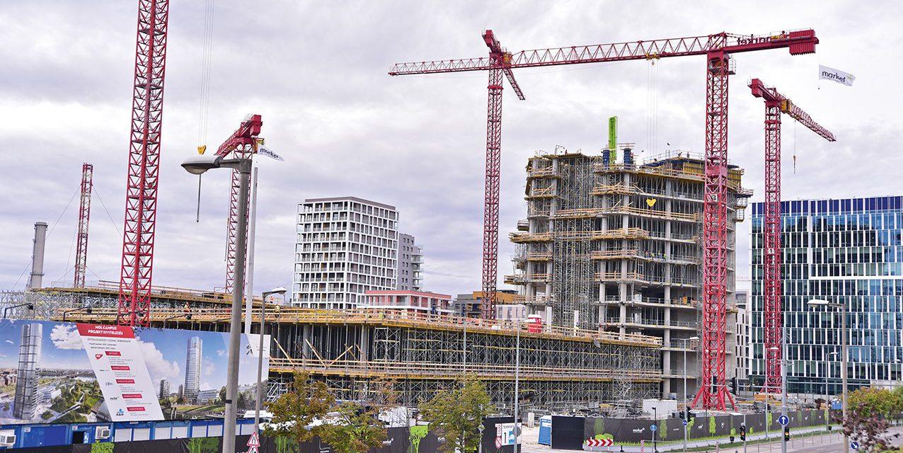 Egy év alatt 13,6 százalékkal csökkent, az előző hónaphoz képest 1,9 százalékkal nőtt az építőipari termelés