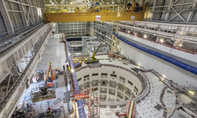 Az Energiatudományi Kutatóközpontban tesztelik az ITER egyik berendezését