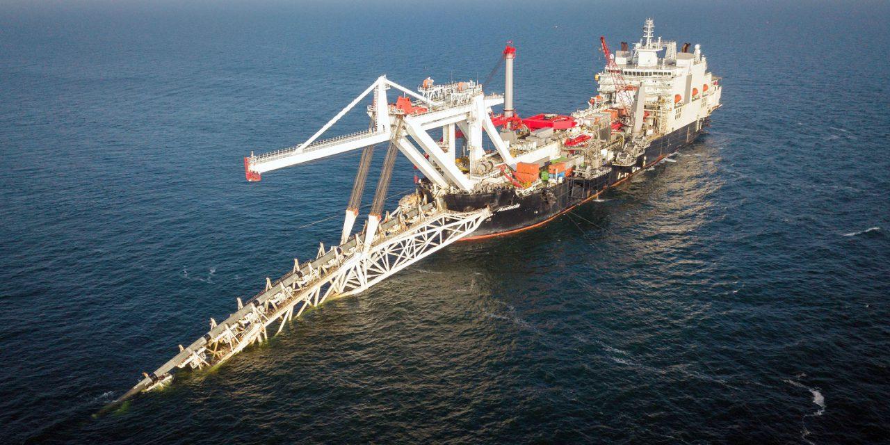Újraindultak az Északi Áramlat-2 csőfektetési munkálatai