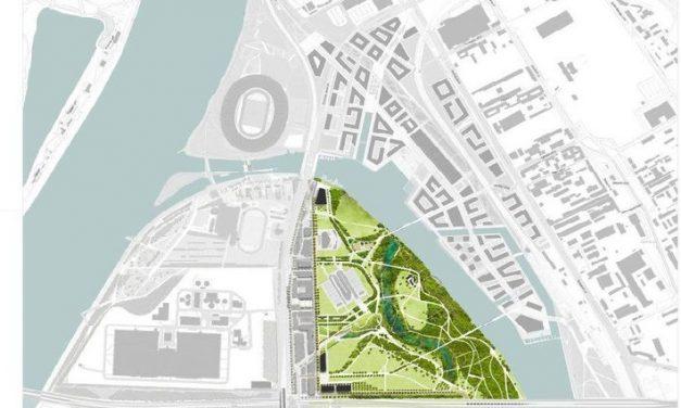 Tervezői közbeszerzés: 36 hektáros park Csepelen