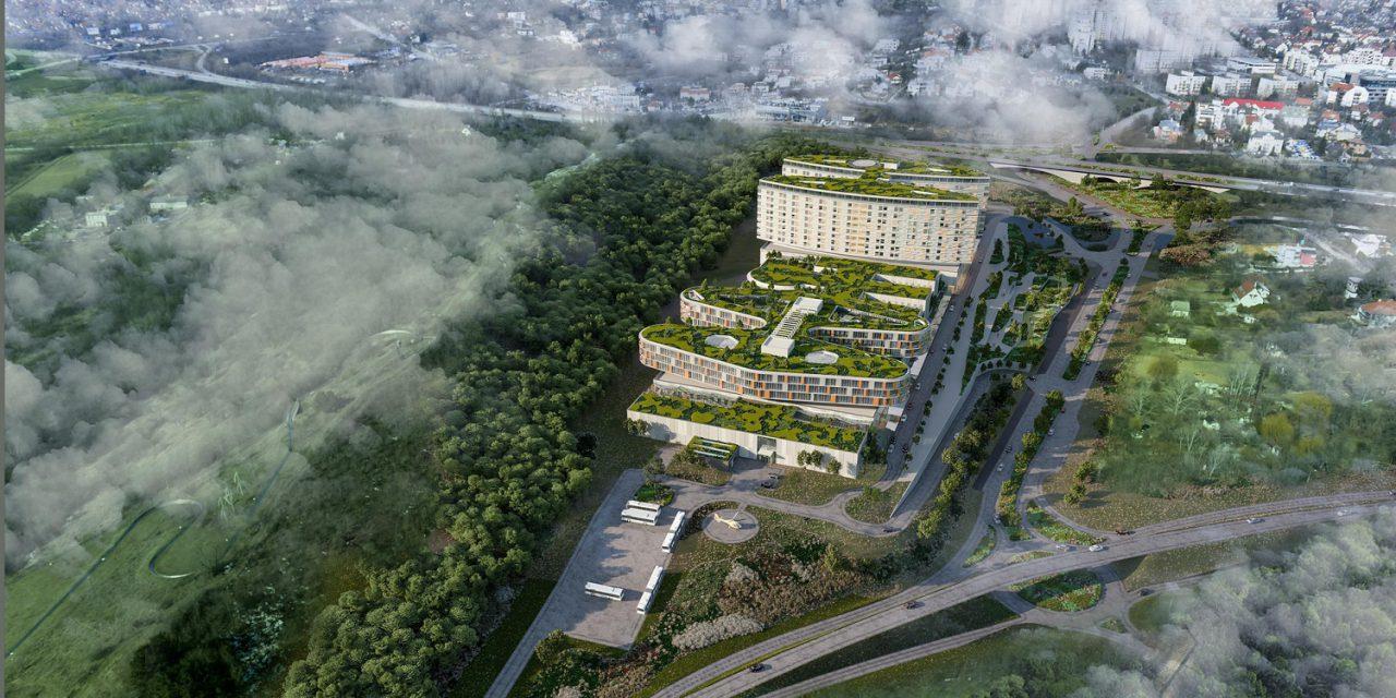 Dél-budai Centrumkórház: tervezői közbeszerzés