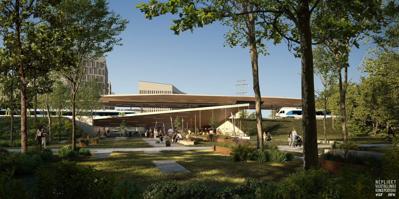 Megkezdődött a népligeti vasúti megálló tervezése