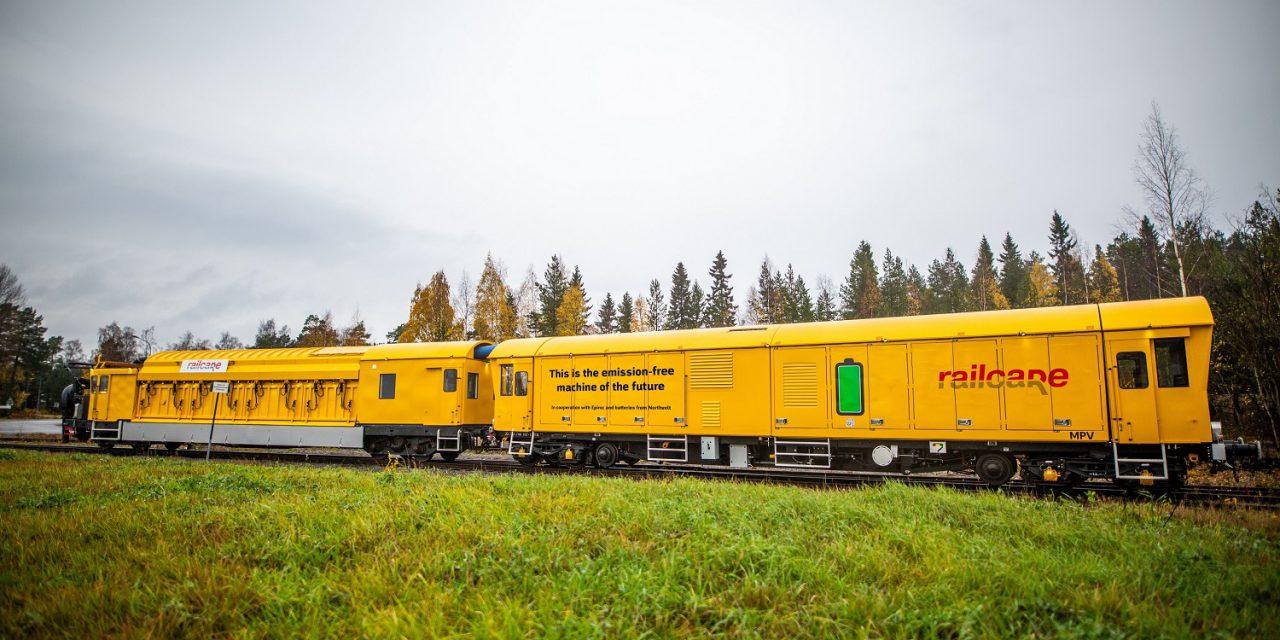 Pályára áll a világ első kibocsátásmentes vasúti karbantartó járműve