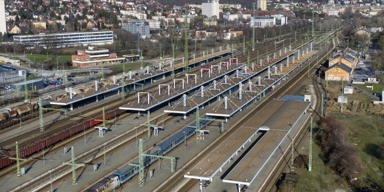Korábban sosem látott összértékű vasúti fejlesztések fejeződnek be idén