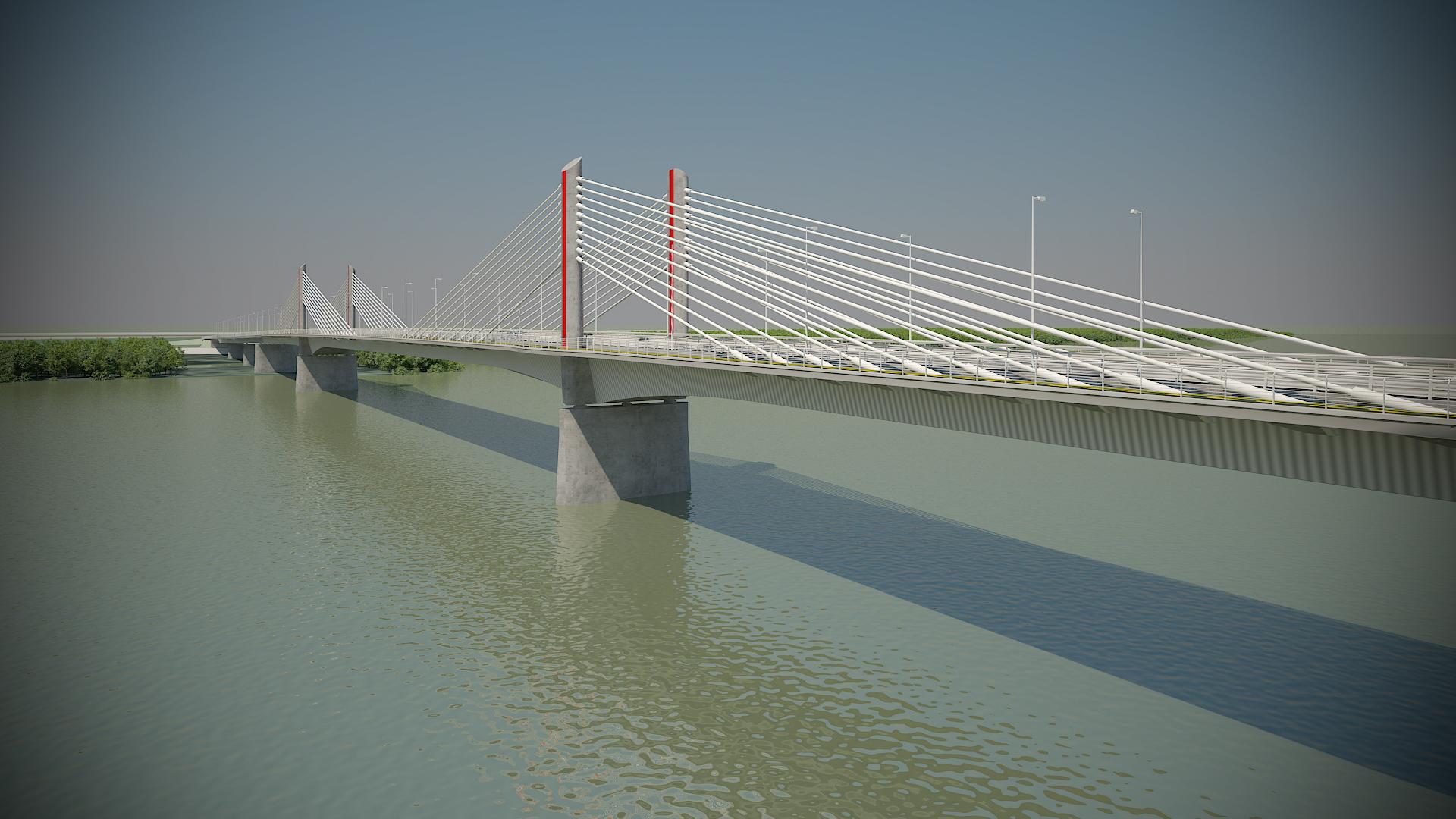 Indul a Kalocsa-Paks Duna-híd építése