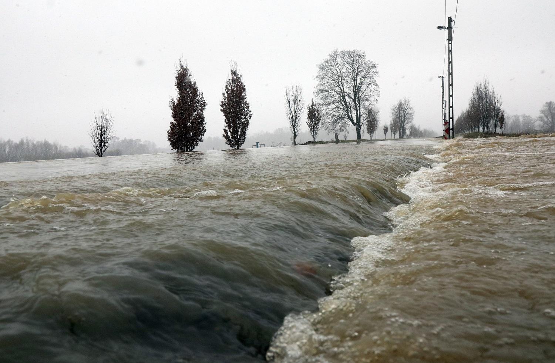 OVF: árvíz, belvíz és szennyezés miatt is védekezni kellett februárban
