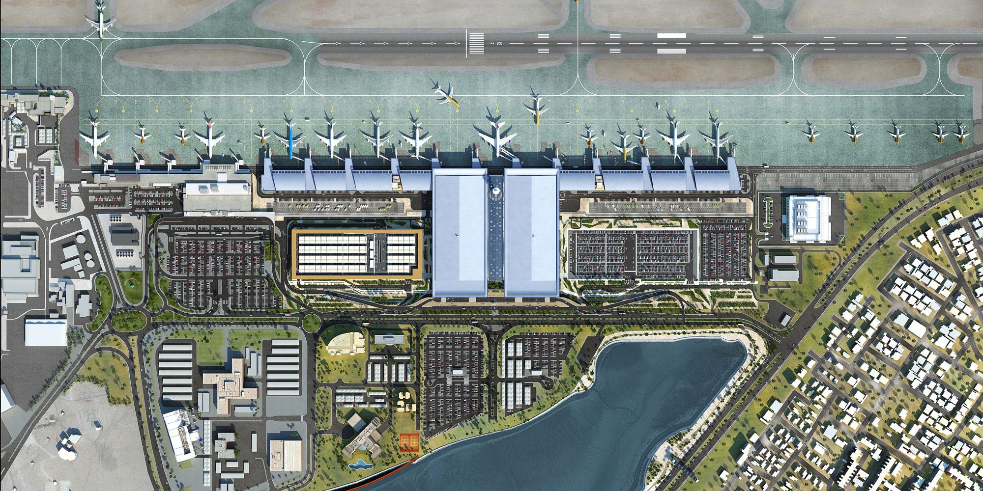 Megnyílt Bahrein új reptéri terminálja