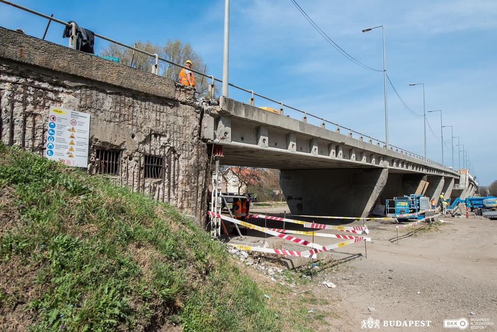 Még az idén befejeződhet a Csömöri úti felüljáró korszerűsítése