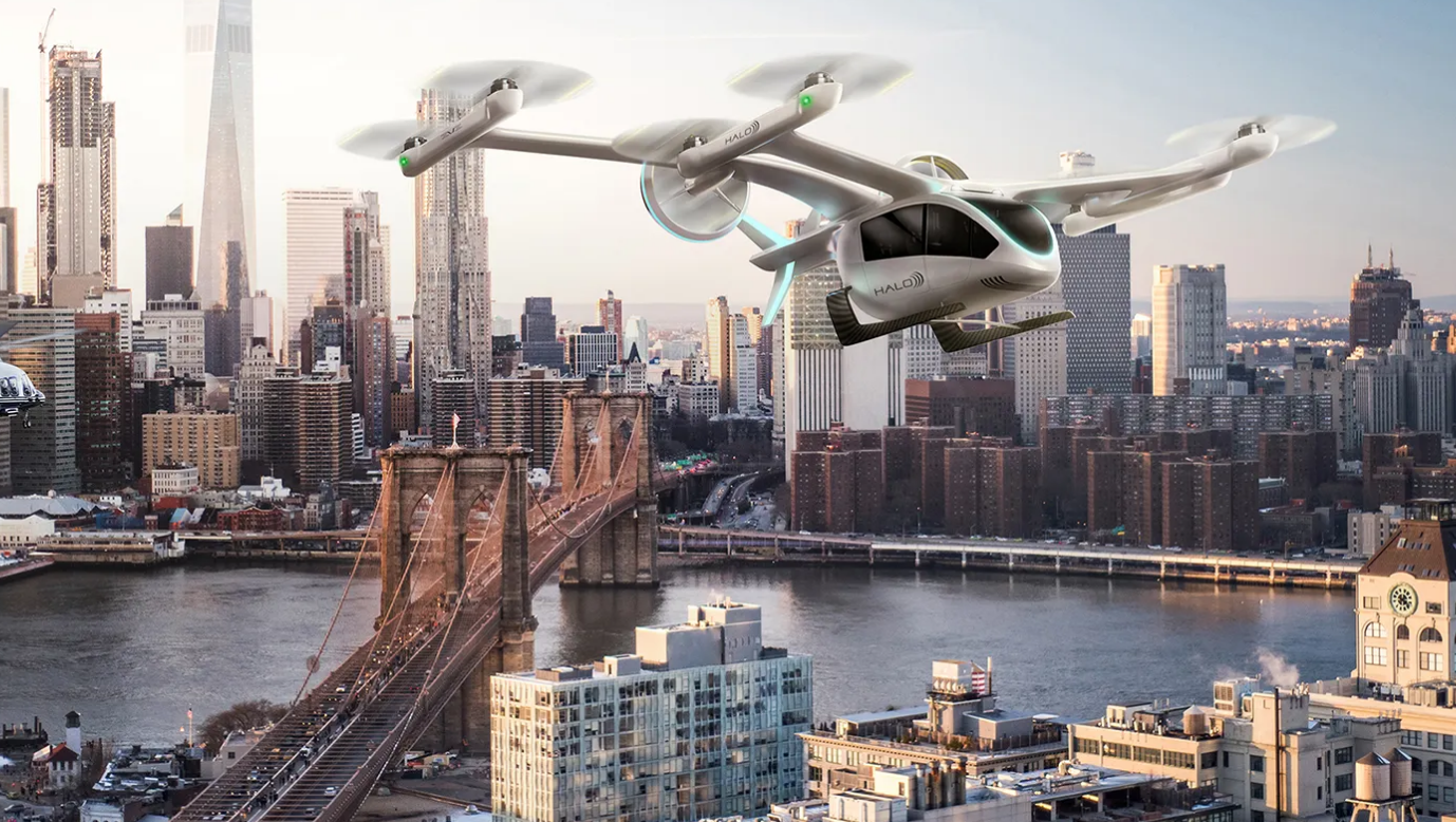 Városi légitaxikkal utazhatunk öt éven belül