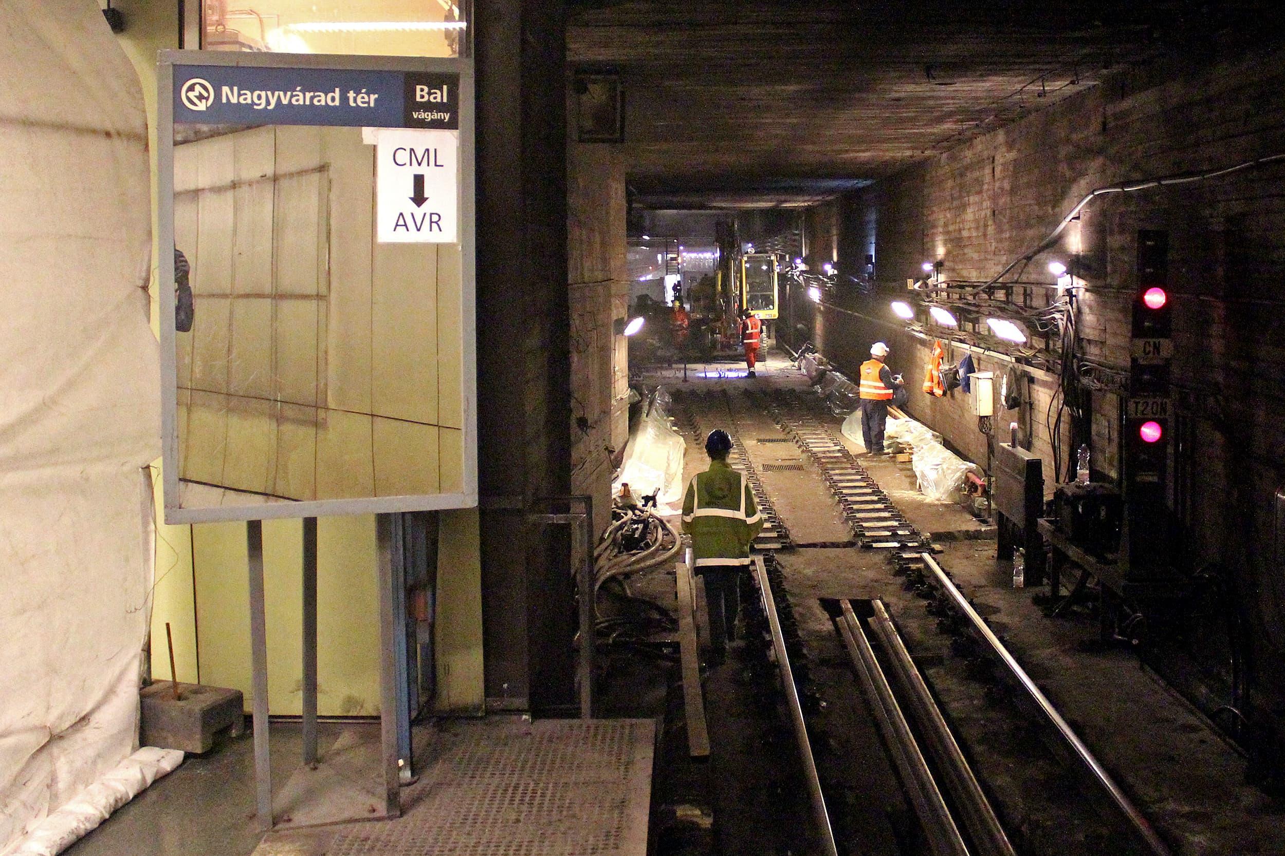 M3 metrófelújítás – mi történik a belváros alatt?