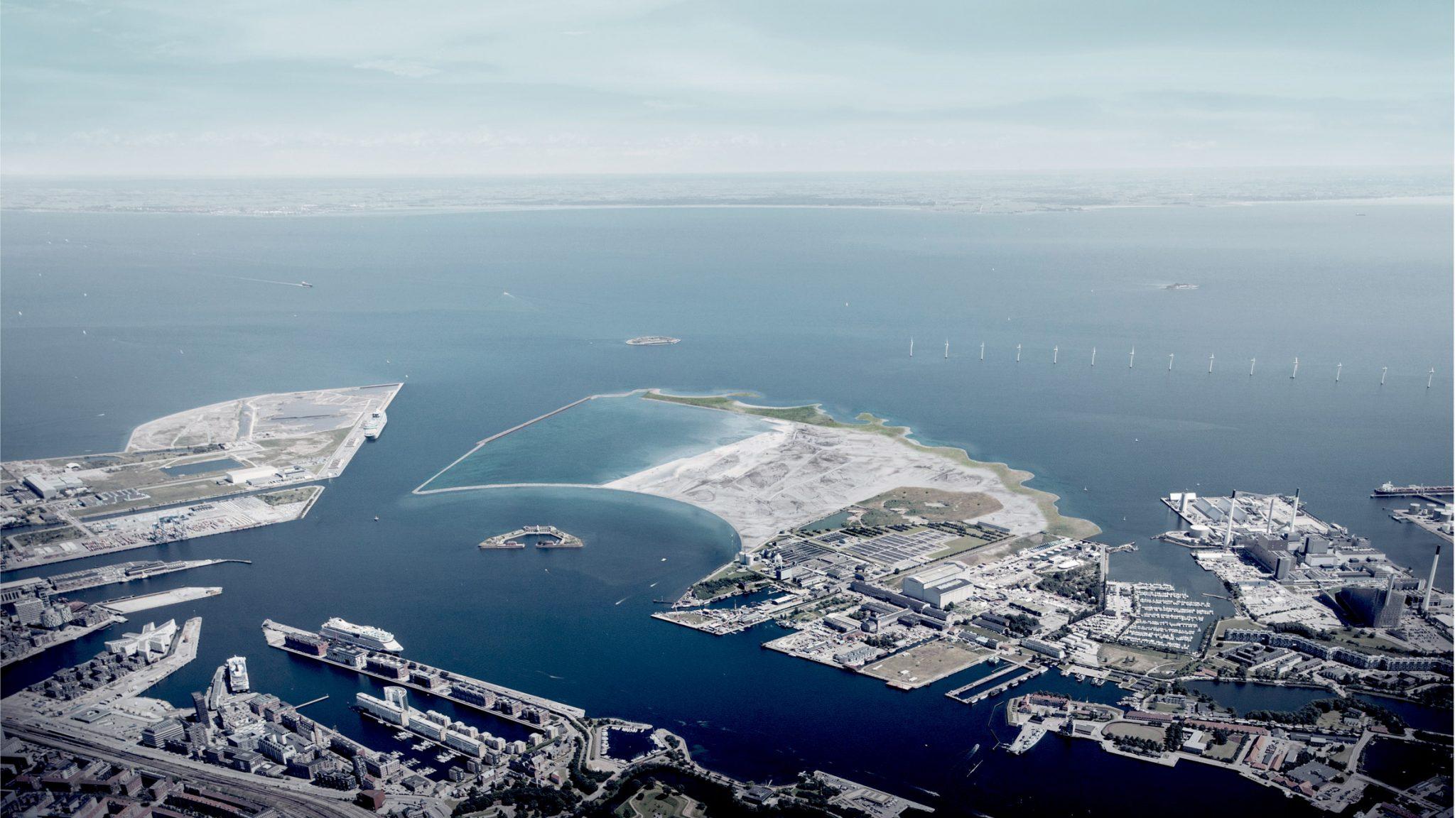 Dánia mesterséges sziget építésével bővíti területeit