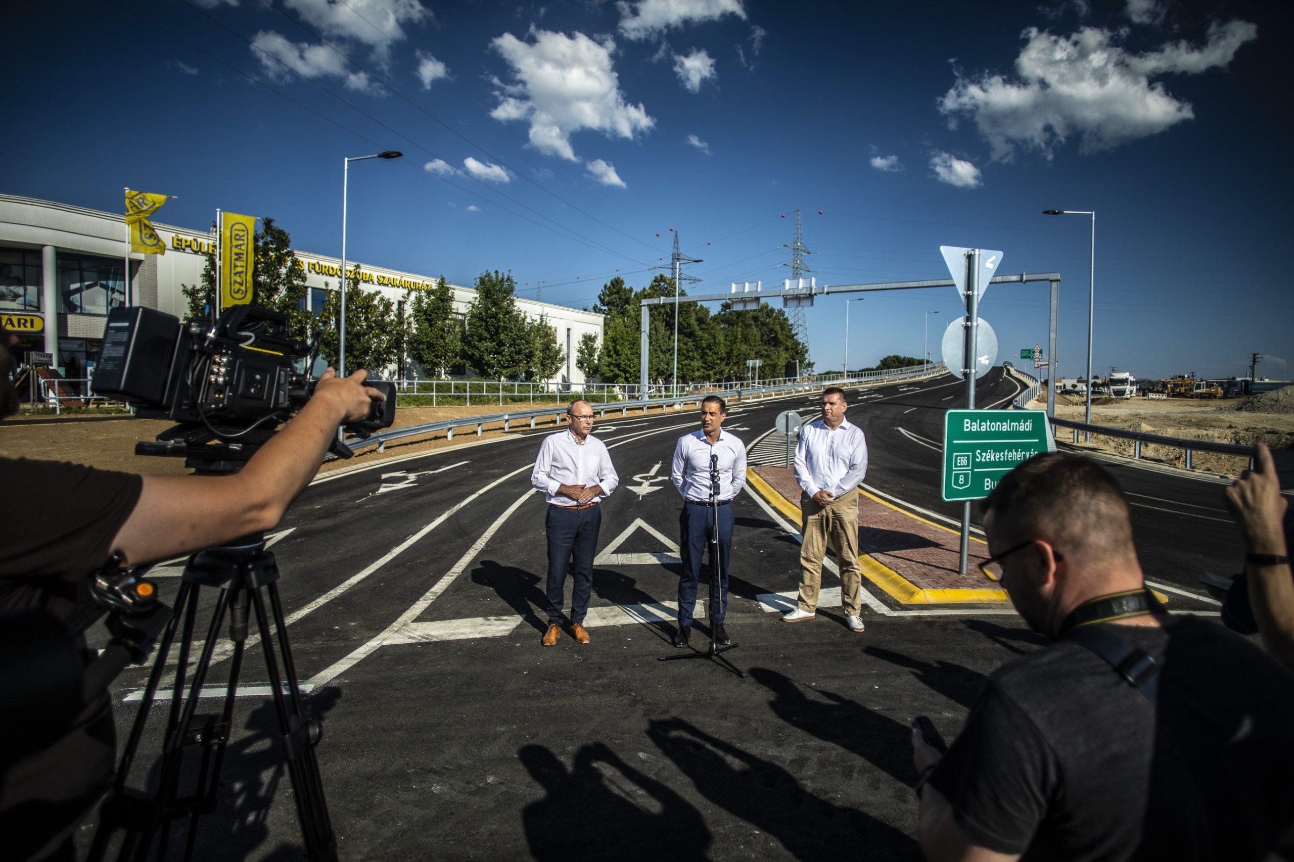 Ütemterv szerint halad Veszprémben a déli elkerülő építése