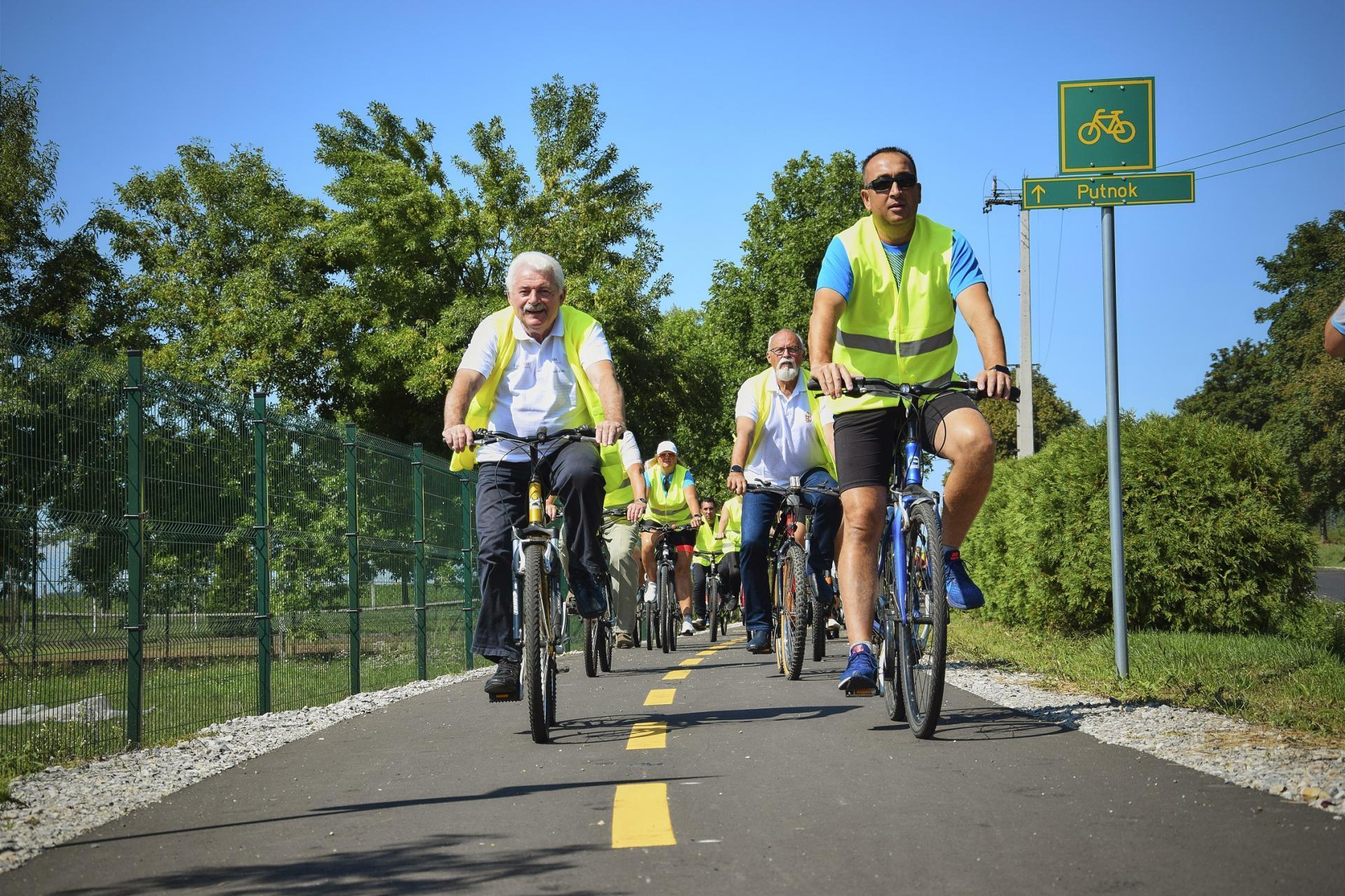 Kerékpárút épült Borsod-Abaúj-Zemplén három települése között