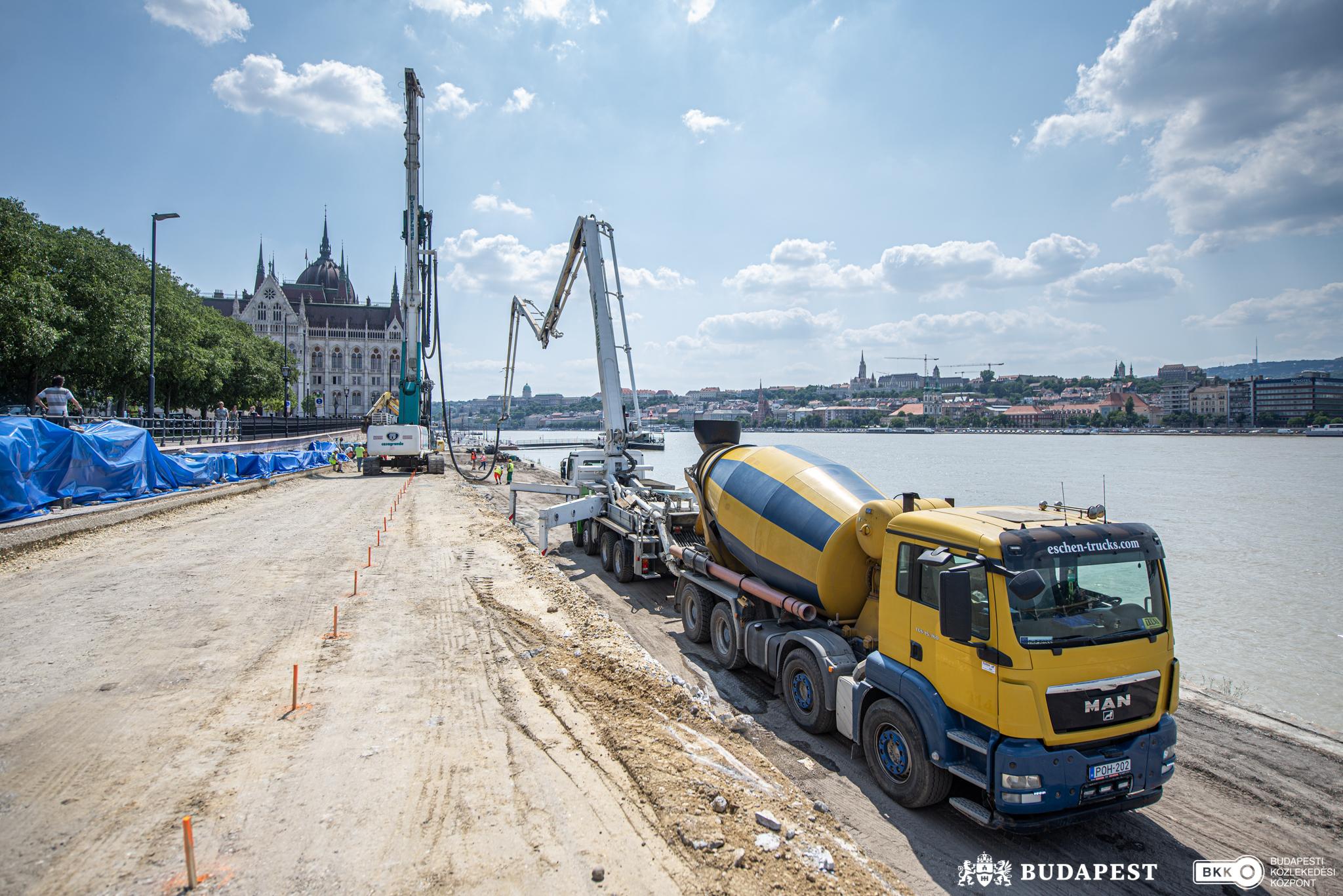 Újjászületik a Duna-part belvárosi szakasza