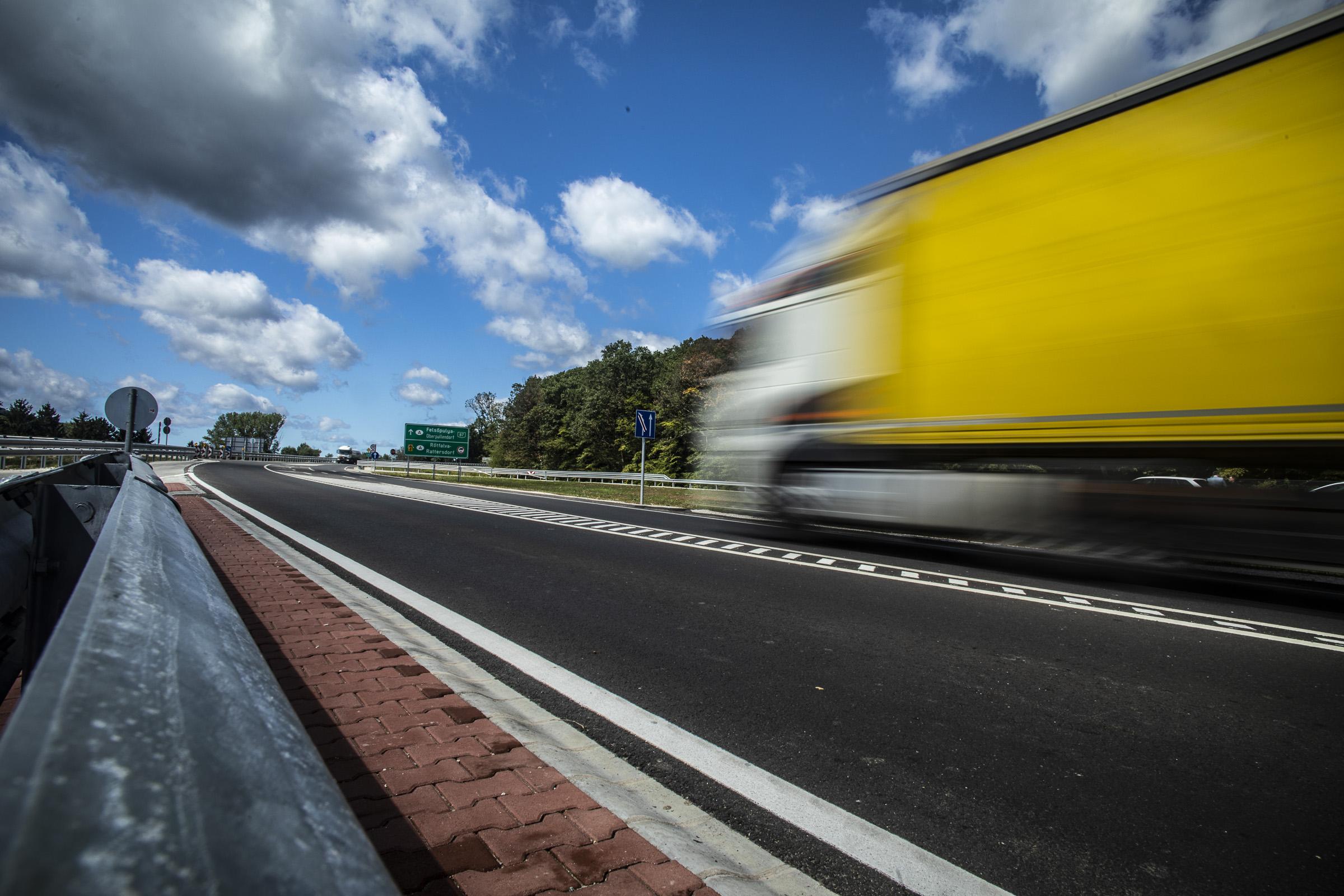 Teljesen elkészült a 87. számú főút Kőszeg és Rőtfalva országhatár közötti szakasza