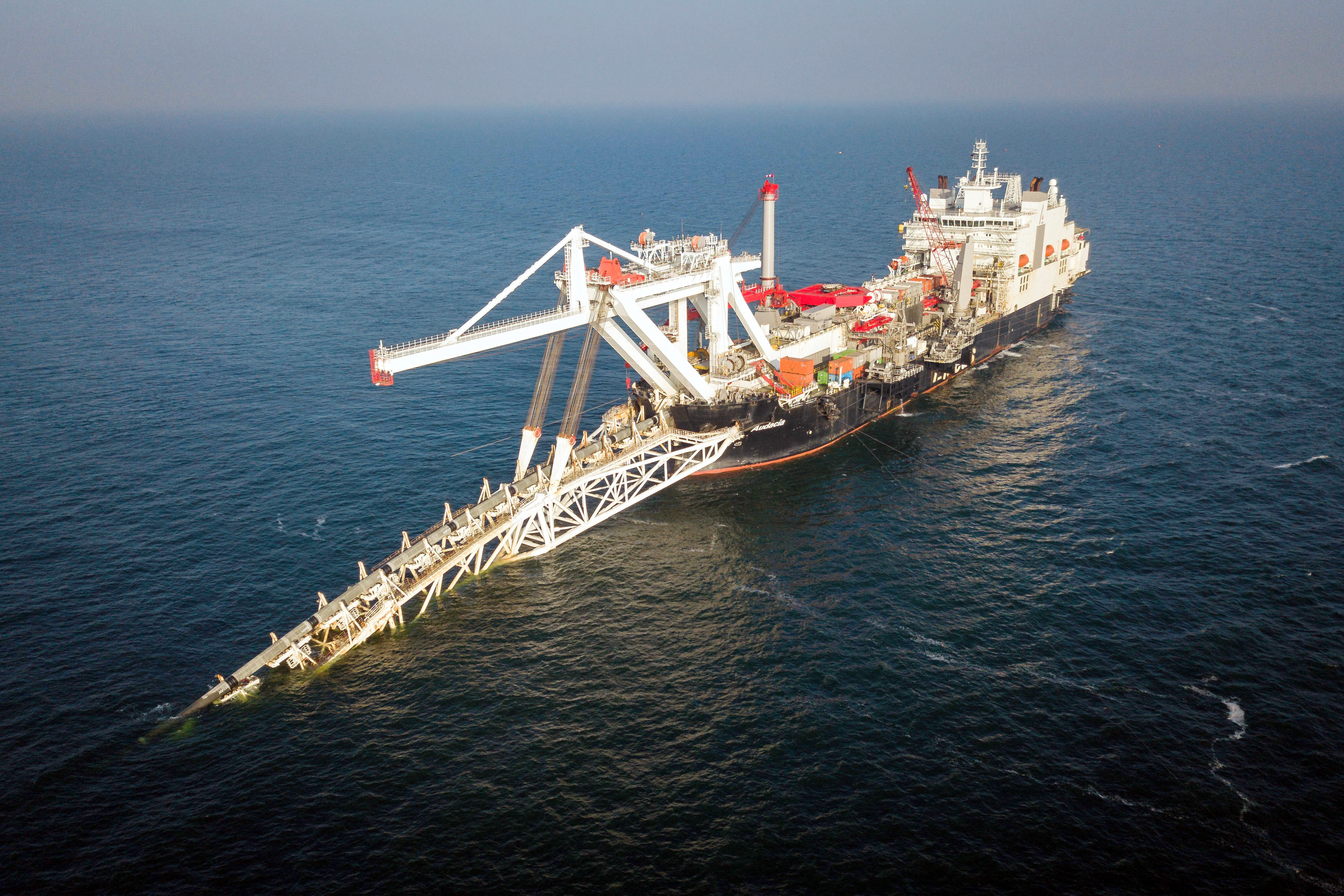 Az Északi Áramlat-2 már az idén 5,6 millió köbméter gázt szállíthat