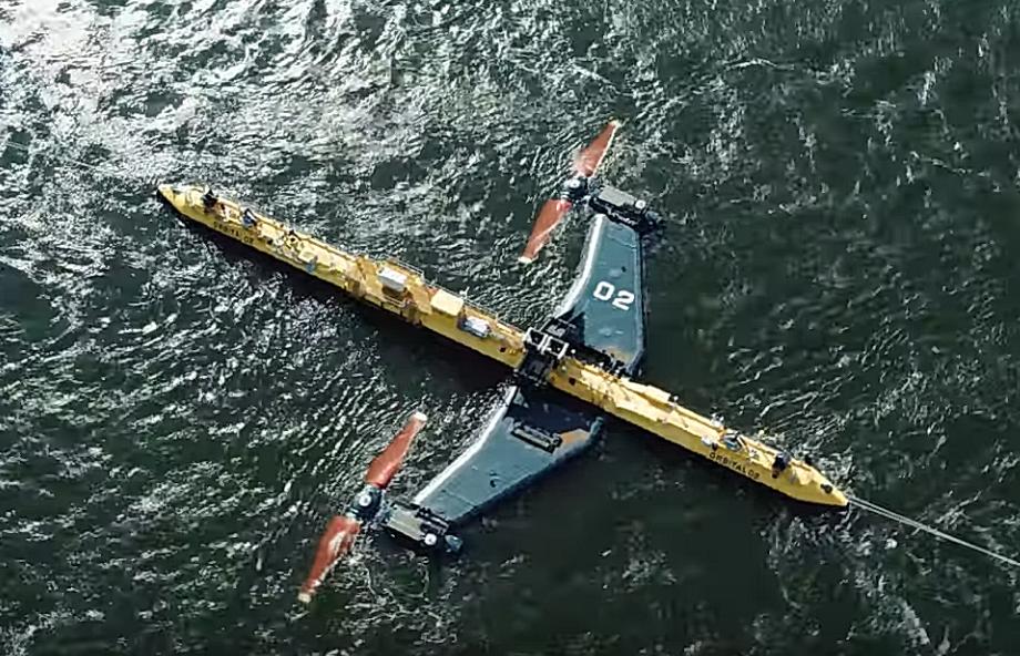 Elkészült a világ legerősebb árapály-turbinája