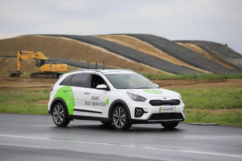 Újabb elem készült el a ZalaZone járműipari tesztpályán