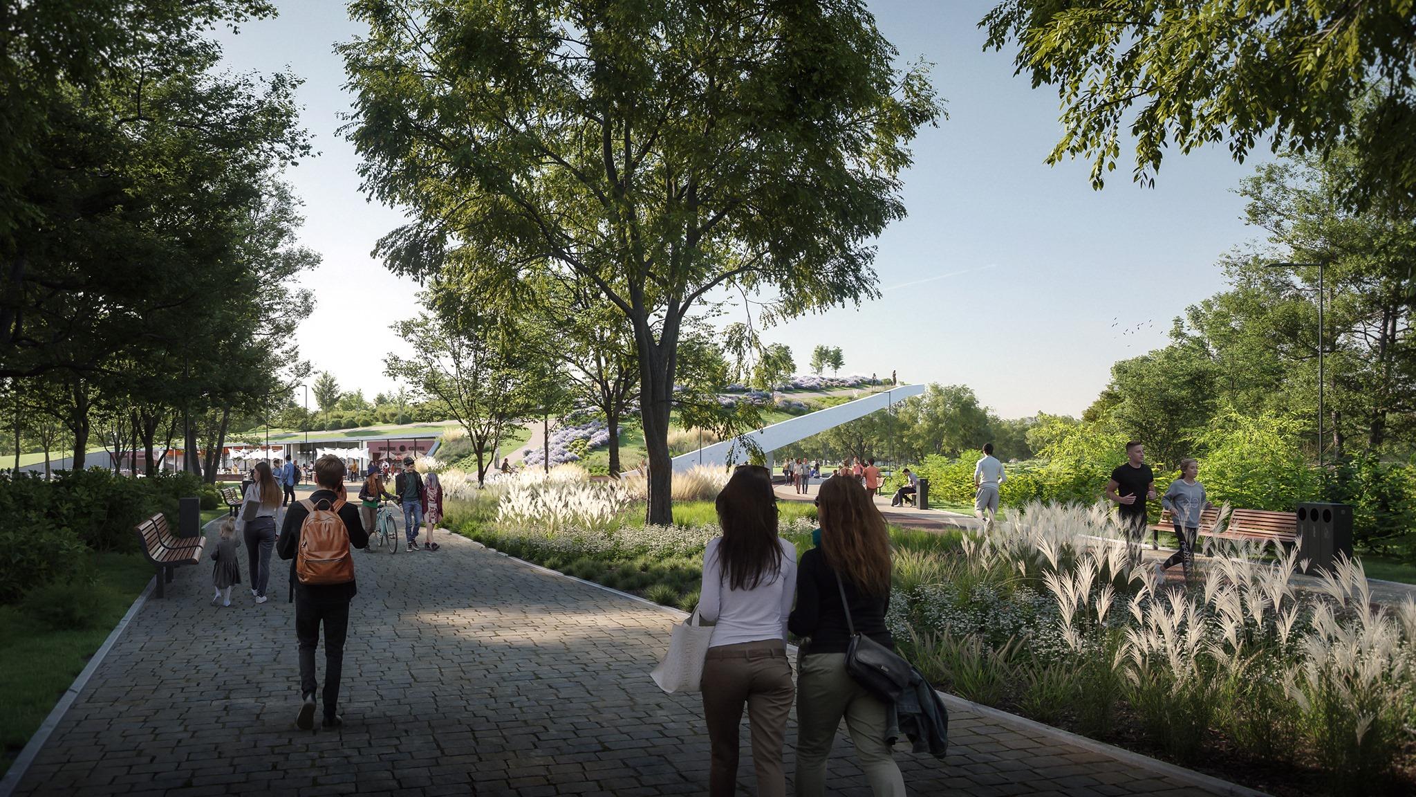 Három városmajornyi park létesül Csepelen