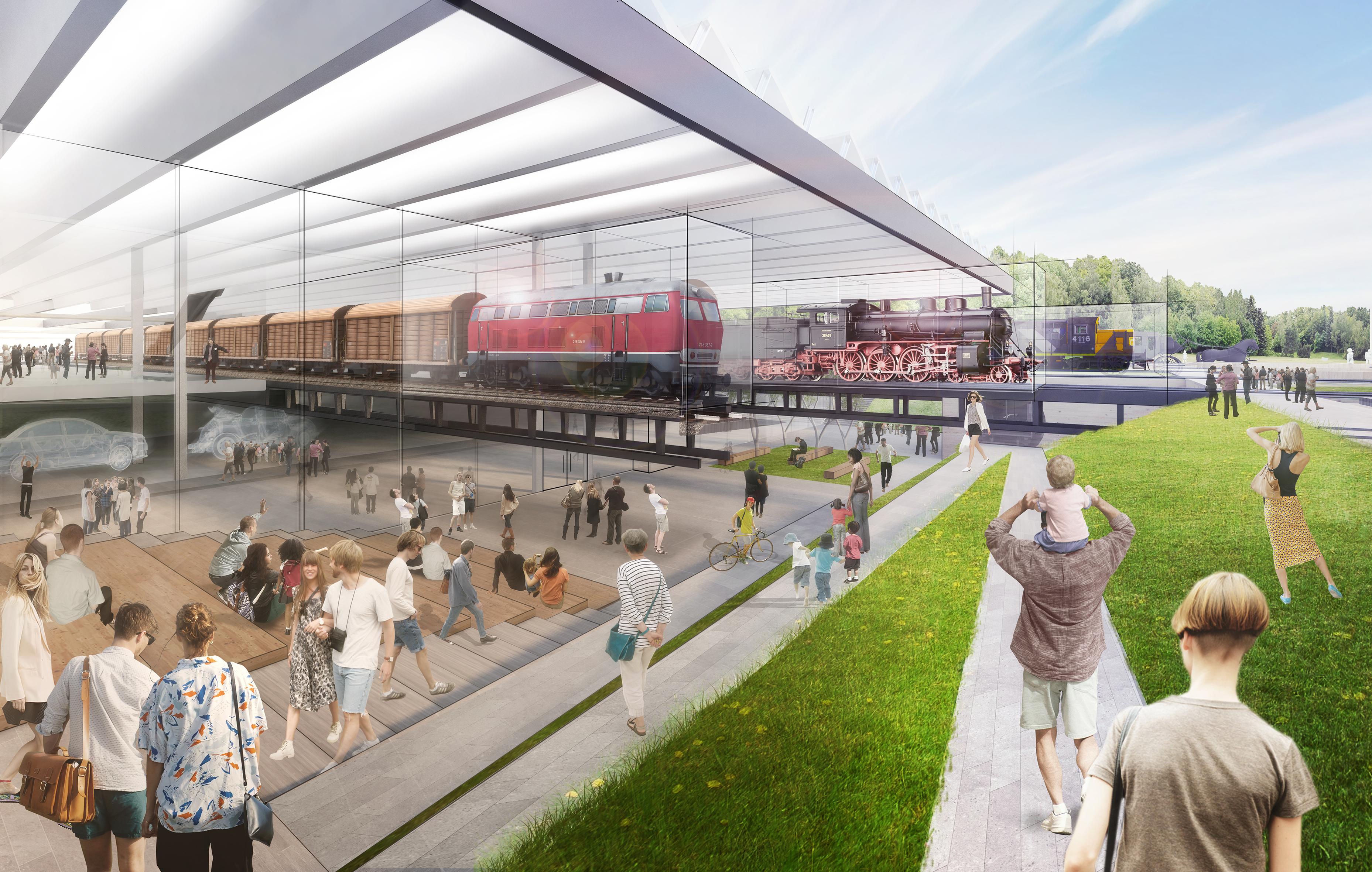 Az Északi Járműjavító 2022-ben hivatalosan is a Közlekedési Múzeum otthonává válik