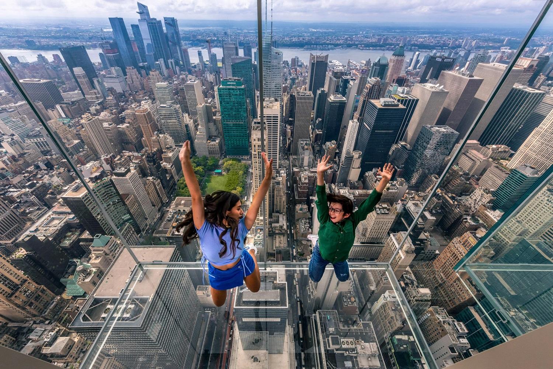 New York legújabb monumentális kilátóterasza