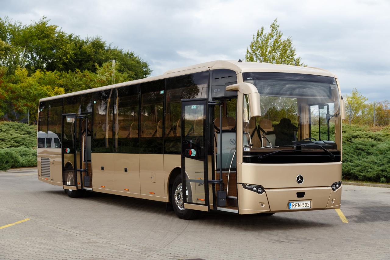 Hazai tervezésű és gyártású távolsági autóbuszt mutattak be