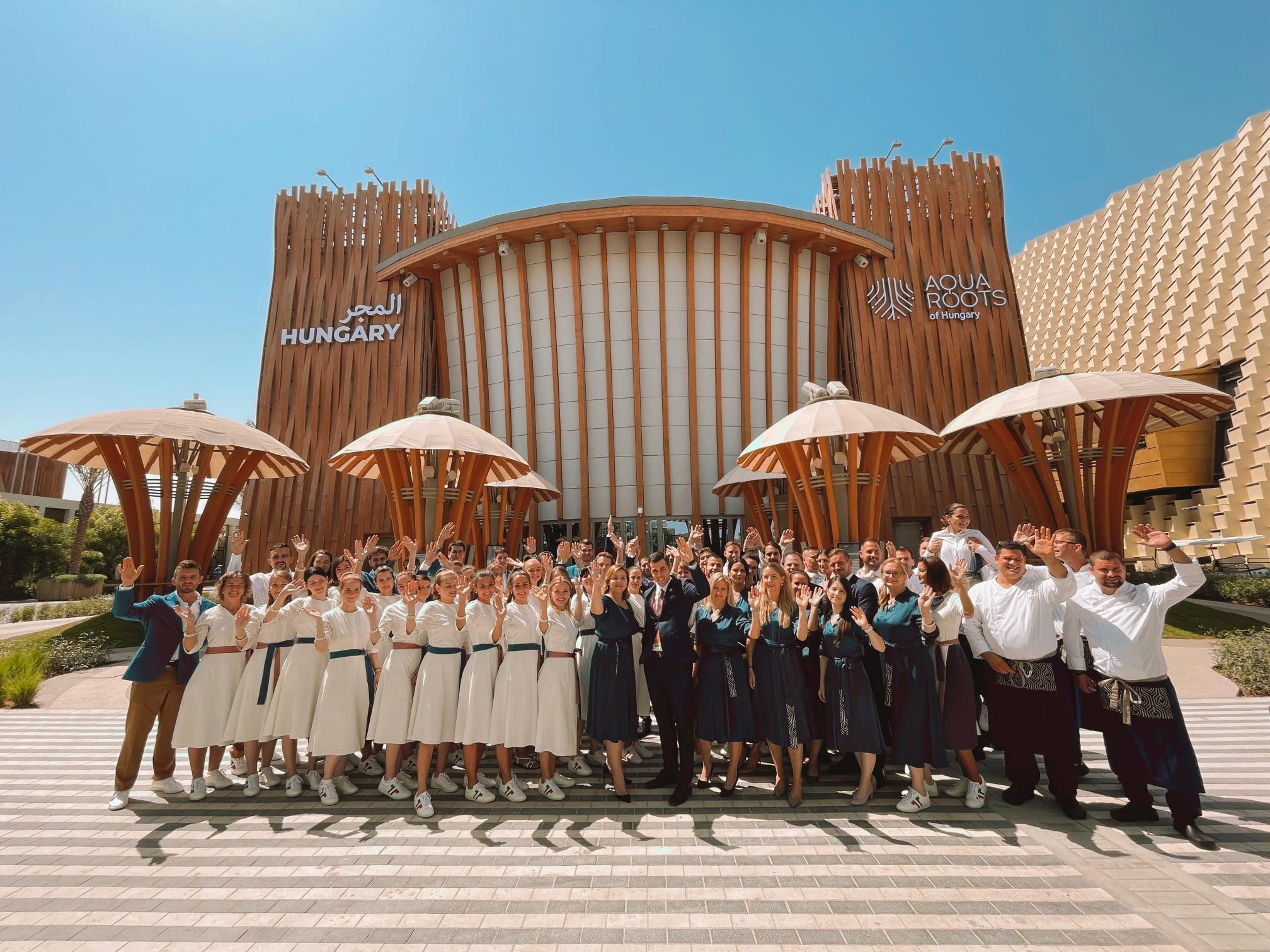 Megnyitott a Dubaji Világkiállítás, elismeréssel díjazták a Magyar Pavilont, ahová 1 millió látogatót várnak