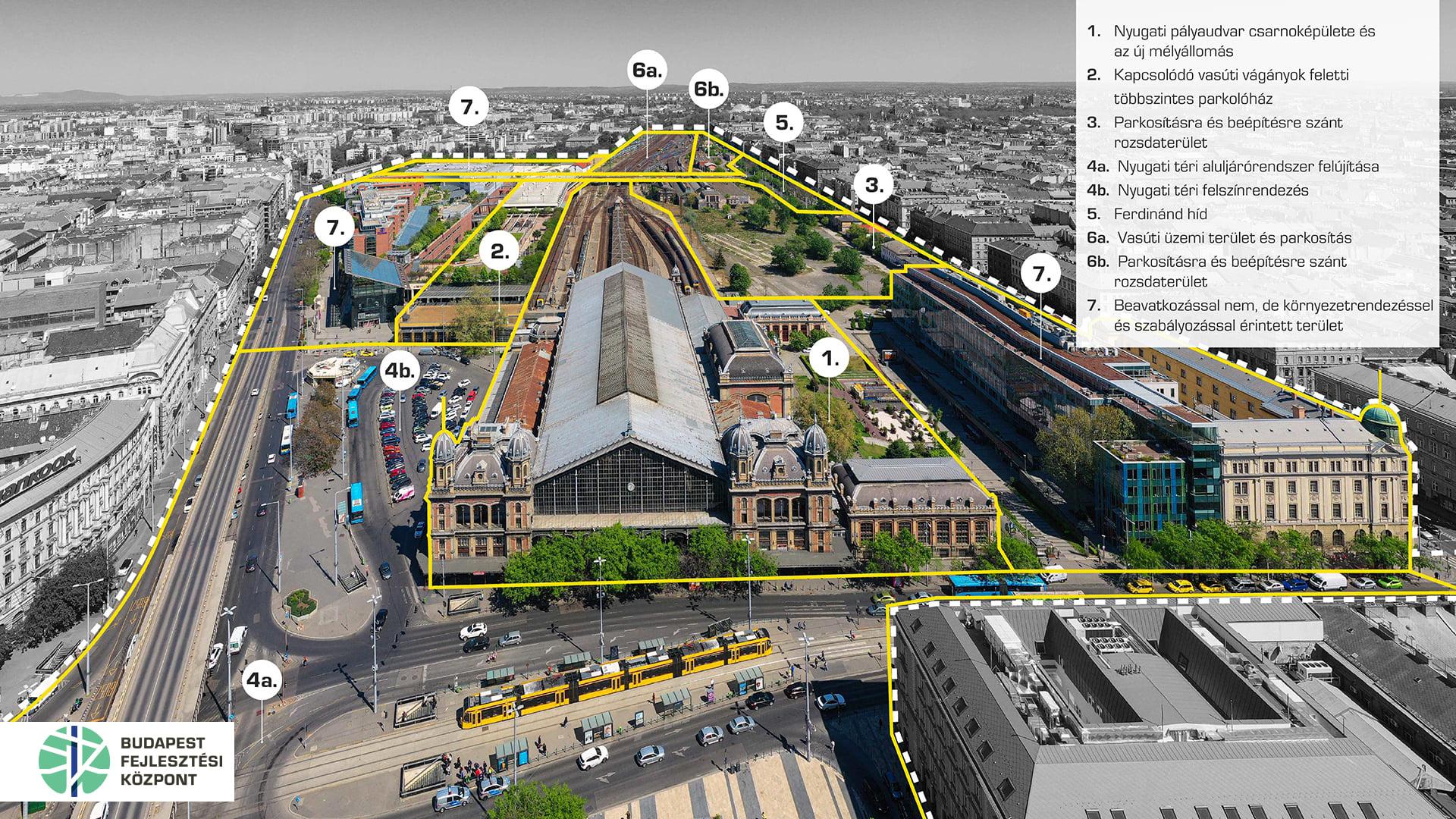 Nemzetközi építészeti tervpályázatot írtak ki a Nyugati pályaudvar és a Nyugati tér megújítására