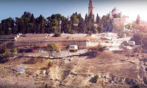 Lanovka Jeruzsálemben?