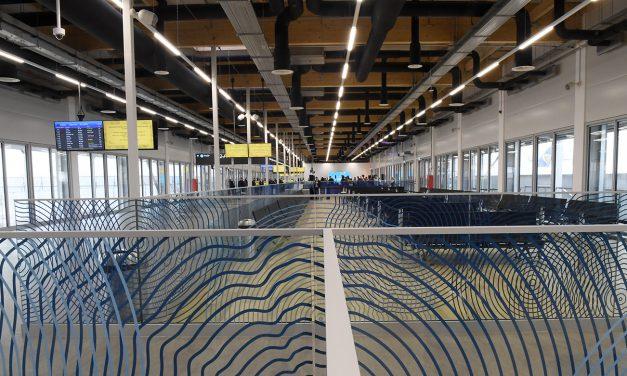 Új utasmóló nyílt a Liszt Ferenc-repülőtéren