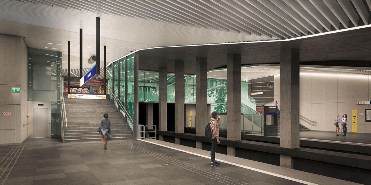Így festenek majd a megújult metróállomások