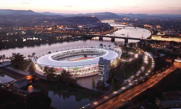 Elindult a Budapesti Atlétikai Stadion építése