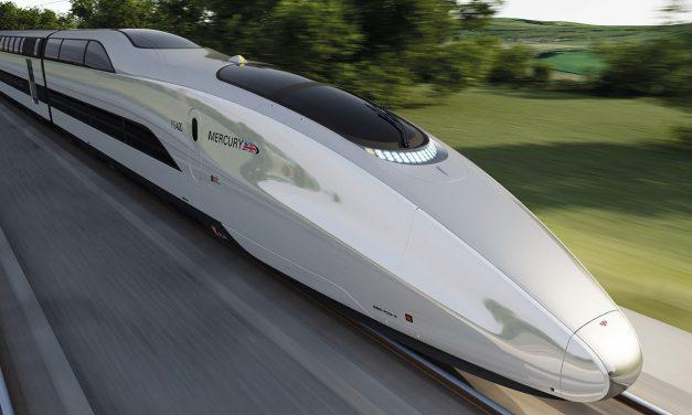 Megépül az angliai nagysebességű vasúti hálózat