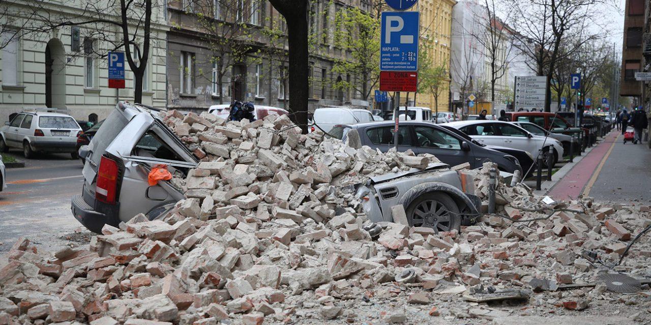 5,4 erősségű földrengés volt Zágrábban