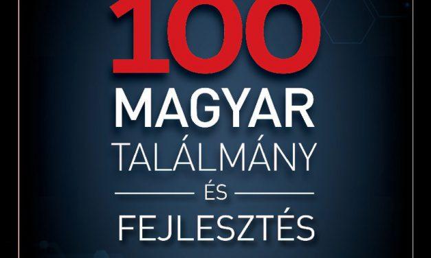 Megjelent a 100 magyar találmány és fejlesztés 2020 című kiadvány